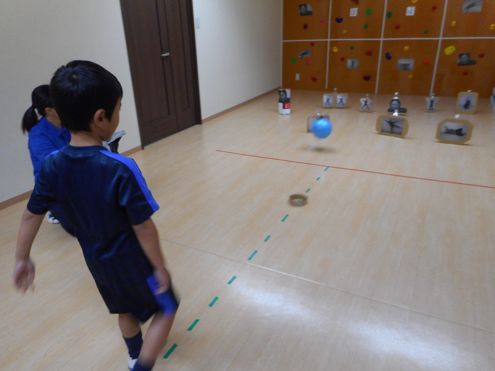 室内運動療育