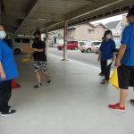 洪水時の避難訓練を実施しました